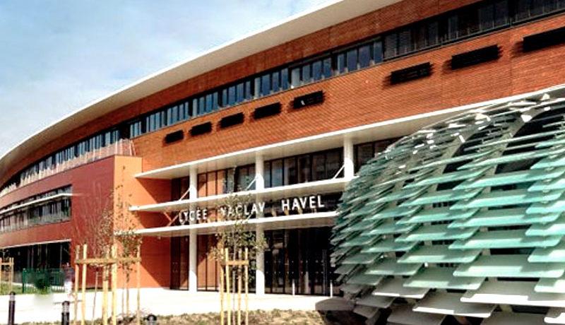 Lycée Vaclav Havel à Bègles